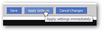 Apply VPN Settings